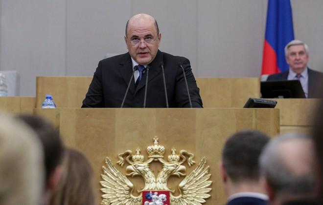 Tân Thủ tướng Nga Mikhail Mishustin. Ảnh: AP.