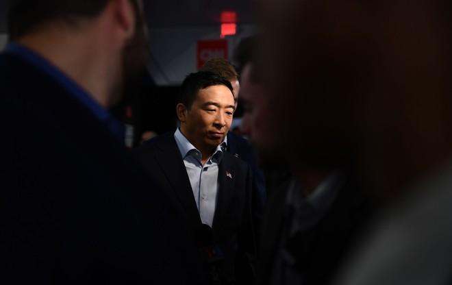 Ông Andrew Yang. Ảnh: AFP.