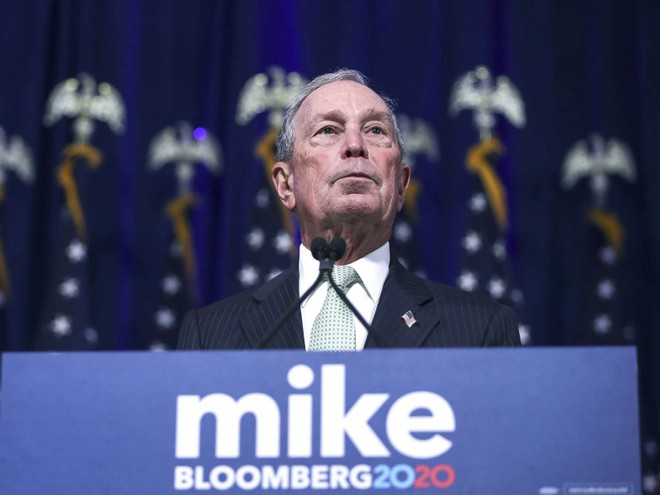 Ông Michael Bloomberg. Ảnh: Getty Images.