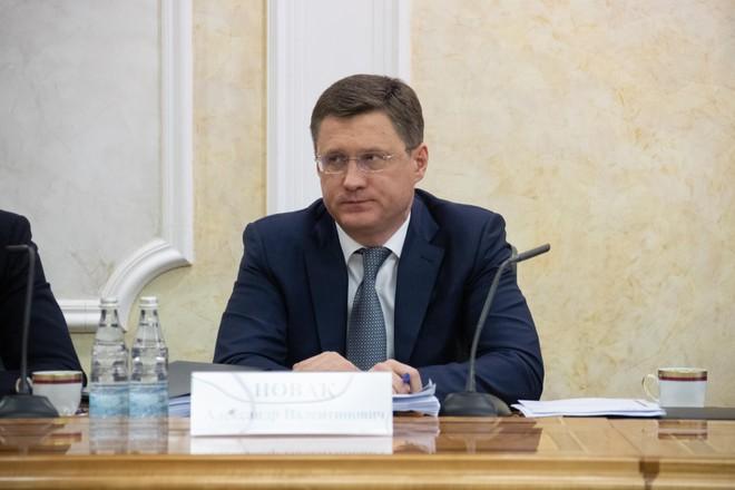 Bộ trưởng Năng lượng Nga Alexander Novak. Ảnh: СФ.