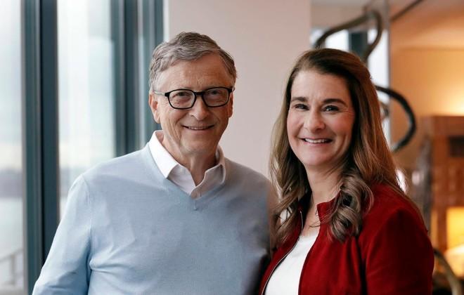 Bill Gates và bà Melinda Gates. Ảnh: AP.