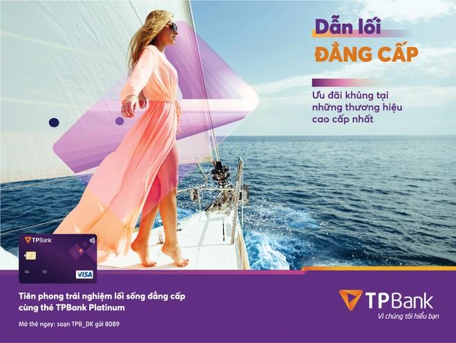 TPBank định hướng tiên phong mang lại những trải nghiệm tốt nhất cho khách hàng trong sản phẩm thẻ.