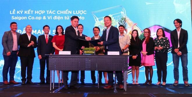 Ví điện tử MoMo và Saigon Co.op ký kết hợp tác chiến lược