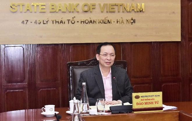 Phó Thống đốc Thường trực NHNN Đào Minh Tú.