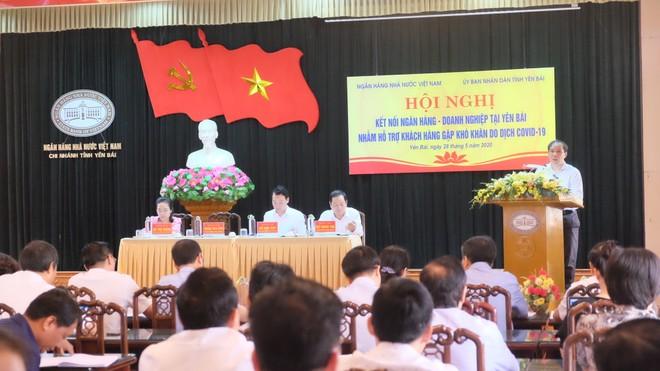 Phó Thống đốc NHNN Đoàn Thái Sơn phát biểu tại Hội nghị