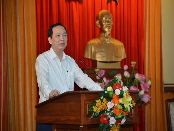 Phó Thống đốc NHNN Đào Minh Tú phát biểu tại Hội nghị.