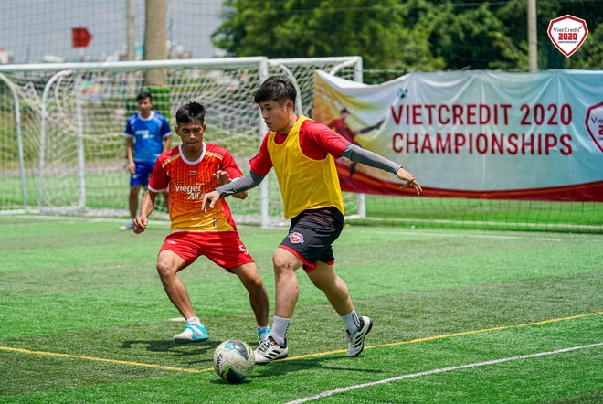 Vận đông viên các đội tham gia thi đấu tại VietCredit 2020 Championships