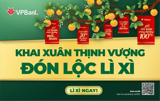 VPBank tặng hơn 140.000 phần quà cho khách hàng
