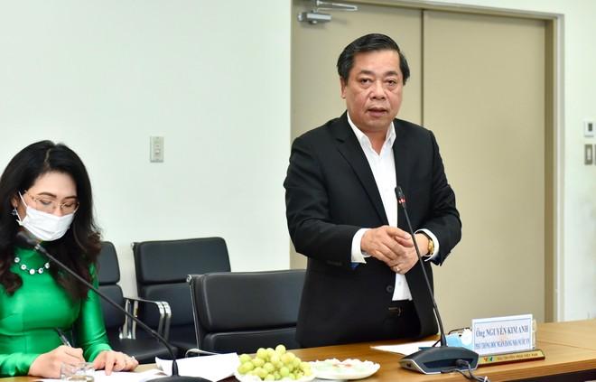 ông Nguyễn Kim Anh, Phó Thống đốc Ngân hàng Nhà nước Việt Nam chia sẻ tại buổi ra mắt chương trình.