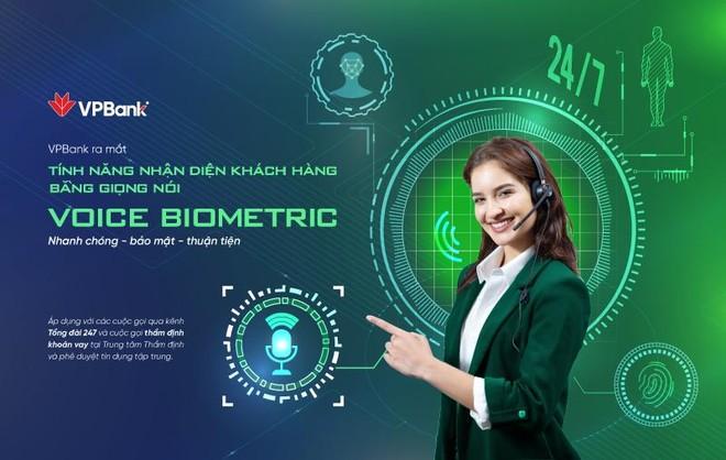 VPBank nhận dạng khách hàng bằng giọng nói Voice Biometrics