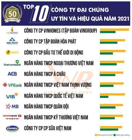 Top 10 công ty đại chúng uy tín và hiệu quả năm 2021: Kỳ vọng tăng trưởng của ngành dẫn đầu ảnh 1