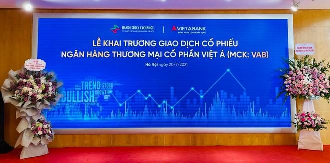 VietABank (VAB) tăng hết biên độ trong phiên chào sàn ngày 20/7