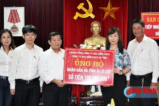 PJICO ủng hộ gần 600 triệu đồng cho đồng bào miền Trung