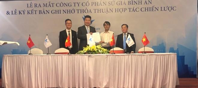 Công ty cổ phần Sứ Giả Bình An và Bảo hiểm Bảo Việt trao Bản ghi nhớ thỏa thuận hợp tác