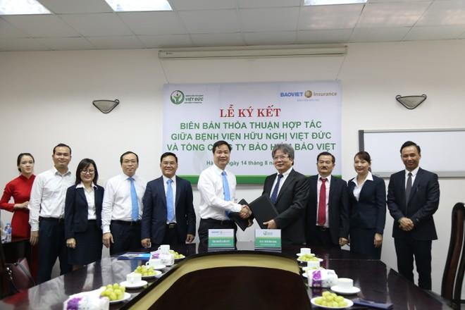 Bảo hiểm Bảo Việt và Bệnh viện Việt Đức ký kết thỏa thuận hợp tác bảo lãnh viện phí