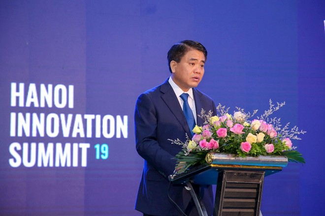 """Chủ tịch UBND Nguyễn Đức Chung: """"Hà Nội sẽ tạo môi trường hấp dẫn cho các start-up trên thế giới"""""""