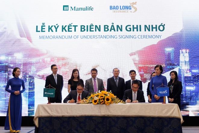 Manulife Việt Nam hợp tác với Bảo Long