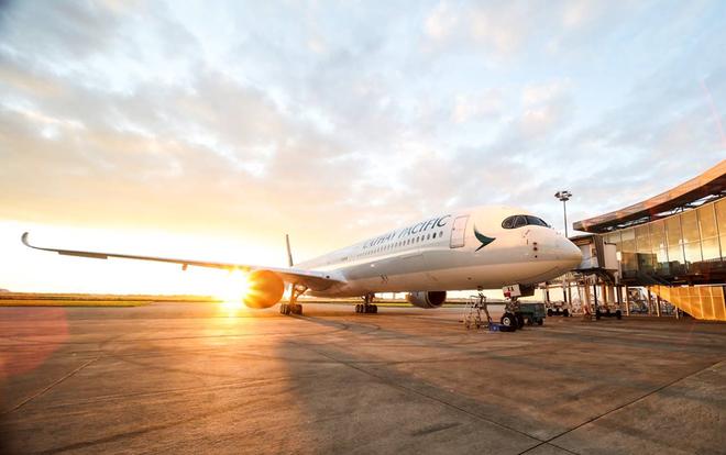 Cathay Pacific đón nhận máy bay Airbus A350-1000 đầu tiên