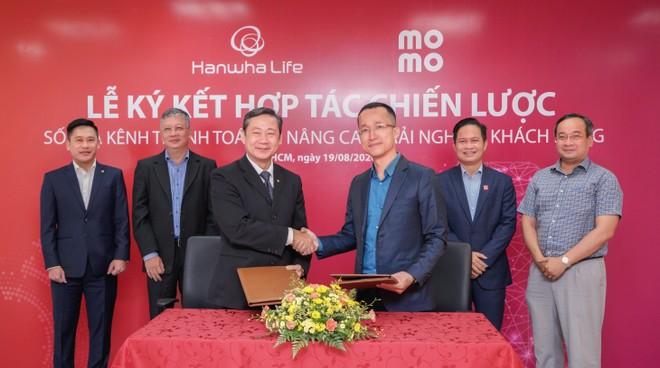 Từ tháng 9/2020, khách hàng của Hanwha Life Việt Nam có thể thanh toán phí qua MoMo