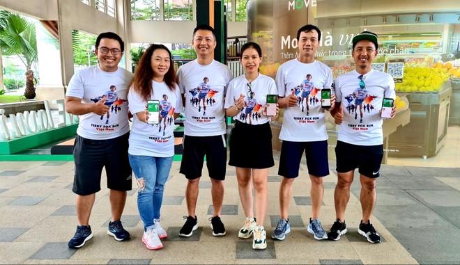 Hơn 680 nhân viên, tư vấn viên và người thân tham gia cuộc chạy ảo Terry Fox Run năm 2020