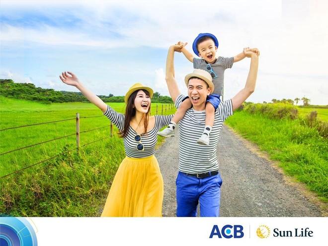 Sun Life Việt Nam ưu đãi khách hàng mua bảo hiểm qua ngân hàng ACB