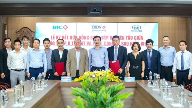 BIC sẽ trở thành nhà cung cấp trong chương trình tặng bảo hiểm cho khách hàng của TMT