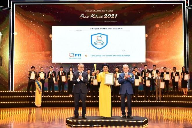 PTI - doanh nghiệp bảo hiểm đầu tiên đạt giải thưởng Sao Khuê