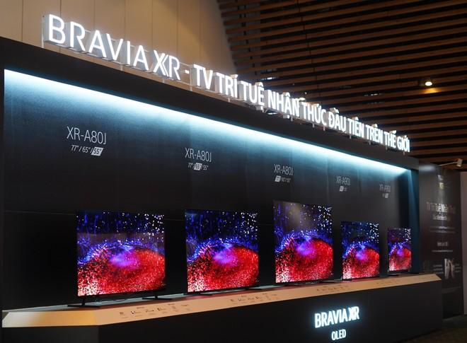 Sony Electronics Việt Nam ra mắt thế hệ TV BRAVIA XR mới