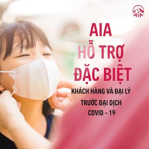 AIA Việt Nam hỗ trợ tài chính đặc biệt dành cho khách hàng, đại lý và IOIS trước dịch Covid-19