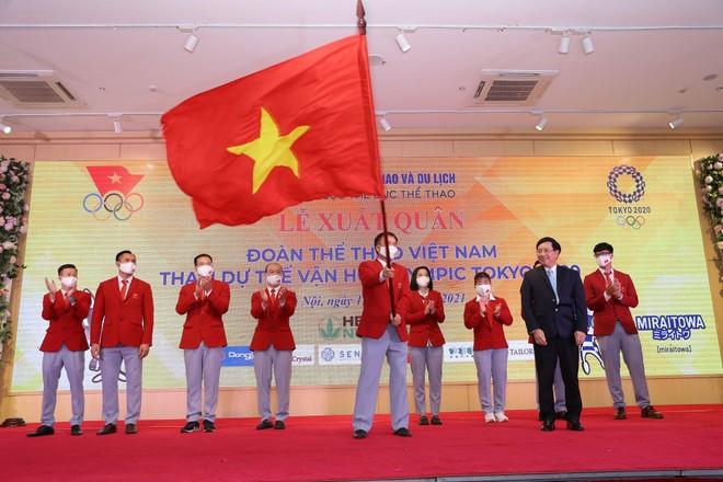 Đoàn thể thao Việt Nam lên đường tham dự Olympic Tokyo 2020