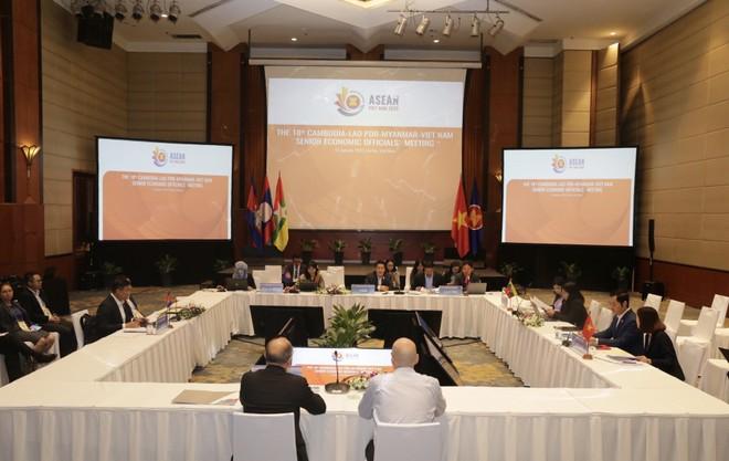 Hội nghị Quan chức kinh tế cấp cao CLMV 18 bàn các giải pháp hợp tác phát triển ảnh 1