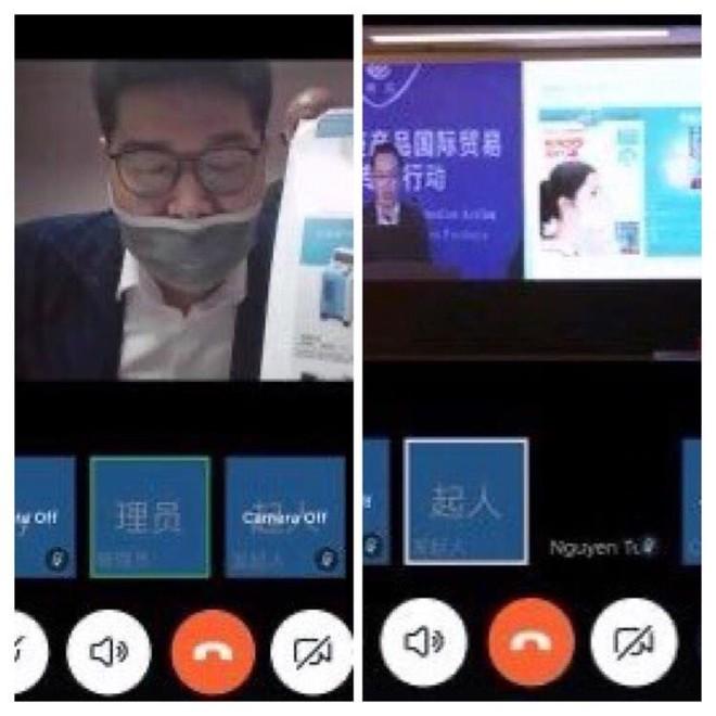 Doanh nghiệp Việt Nam và Trung Quốc kết nối giao thương trực tuyến sản phầm phòng chống dịch