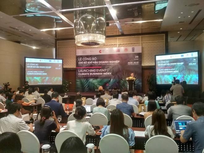 Công bố Chỉ số khí hậu doanh nghiệp: Tăng cường vai trò của doanh nghiệp trong phát triển bền vững ảnh 1