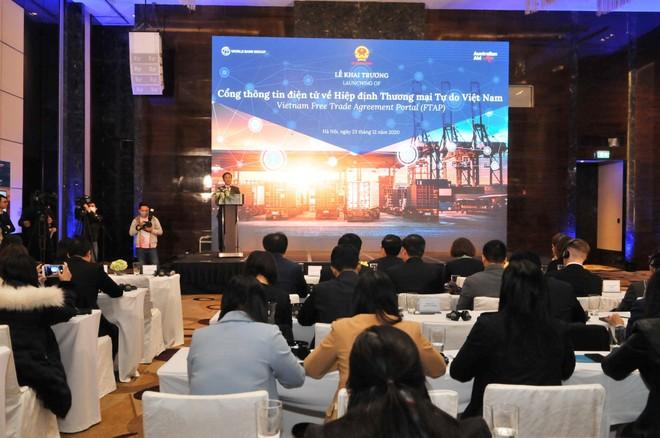 Khai trương Cổng thông tin điện tử về Hiệp định thương mại tự do của Việt Nam (FTAP)
