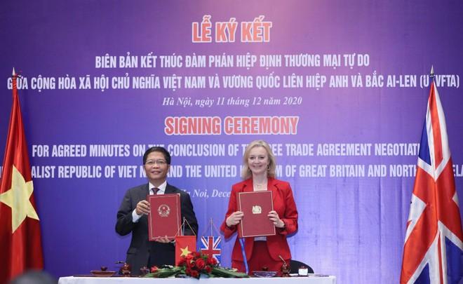 Việt Nam và Anh đang gấp rút hoàn thành các thủ tục, đảm bảo UKVFTA có thể thực hiện ngay từ 23 giờ ngày 31/12/2020