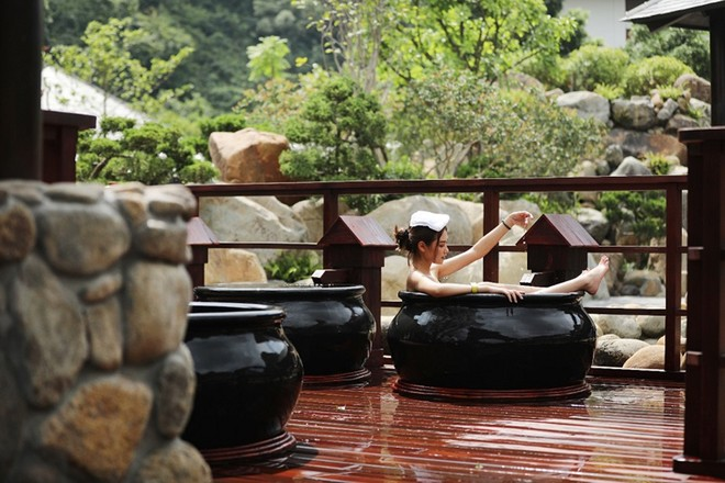 Khám phá khu tắm onsen đặc biệt nhất Việt Nam ảnh 13