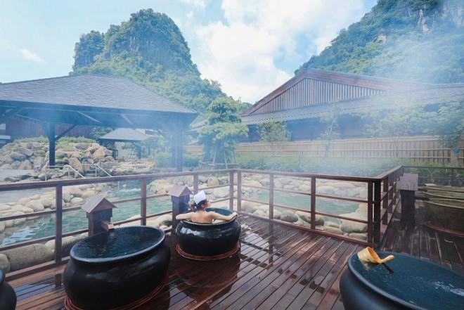 Khám phá khu tắm onsen đặc biệt nhất Việt Nam ảnh 2