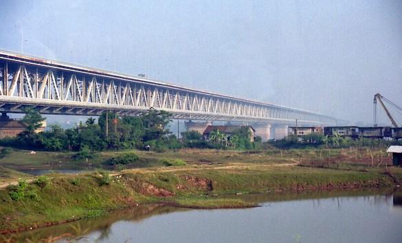 Hơn 310 tỷ đồng sửa chữa triệt để mặt cầu Thăng Long, TP. Hà Nội