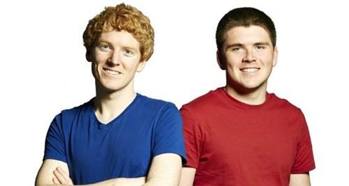 2 anh em John và Patrick Collison