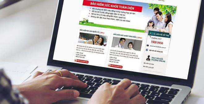 Bảo hiểm trực tuyến dự báo sẽ phát triển