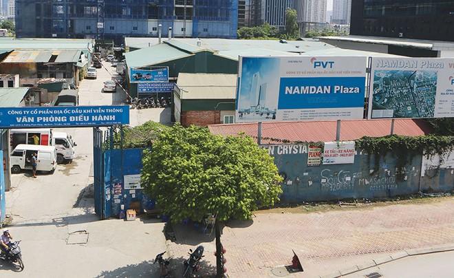 Dự án Nam Đàn Plaza bị đình trệ từ năm 2010 đến nay