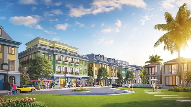 Boutique Shophouse nằm ở vị trí trung tâm dự án nghỉ dưỡng Sun Premier Village Ha Long Bay