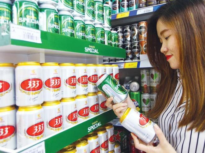 Về chất lượng, các sản phẩm của Sabeco hoàn toàn cạnh tranh được với những thương hiệu khác. Ảnh: Lê Toàn