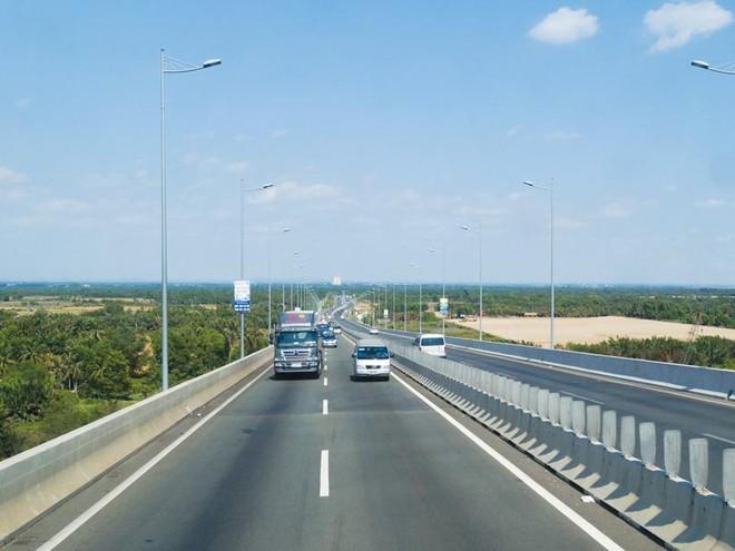 Đường cao tốc TP.HCM - Long Thành - Dầu Giây. Ảnh: Đ.T