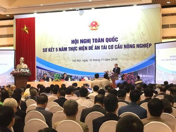 Bộ trưởng Nguyễn Xuân Cường: Năm 2018, dự kiến có khoảng 10.000 tỷ đồng vốn tư nhân đầu tư vào nông nghiệp