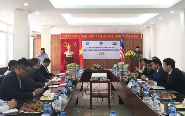 """Sau nhiều năm trái xoài của Việt Nam đã có trong tay tấm """"Giấy thông hành"""" để chinh phục thị trường Hoa Kỳ."""
