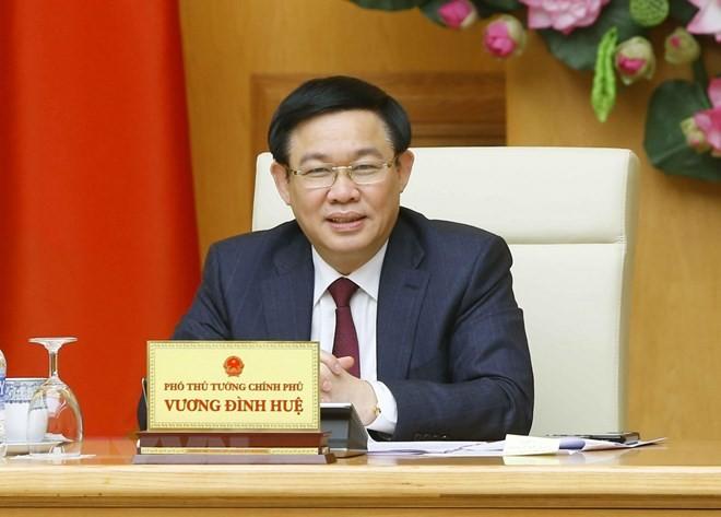Phó Thủ tướng Chính phủ Vương Đình Huệ
