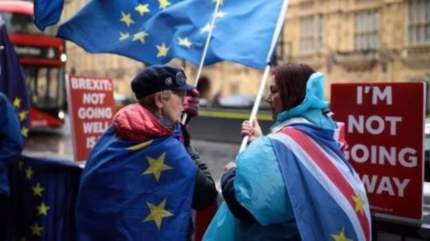 Người dân Anh phản đối Brexit