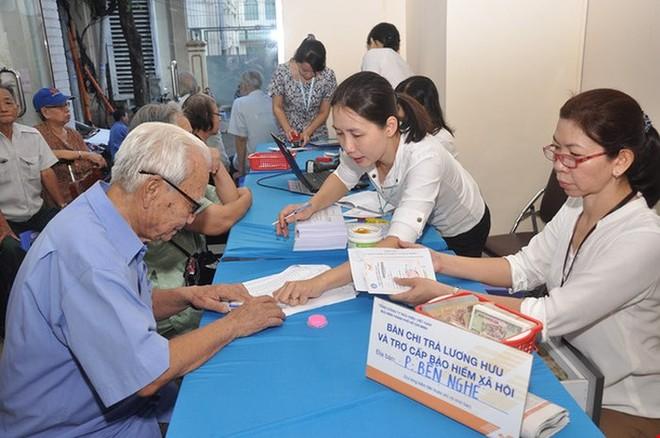 Tăng lương hưu, trợ cấp bảo hiểm xã hội với 8 nhóm đối tượng