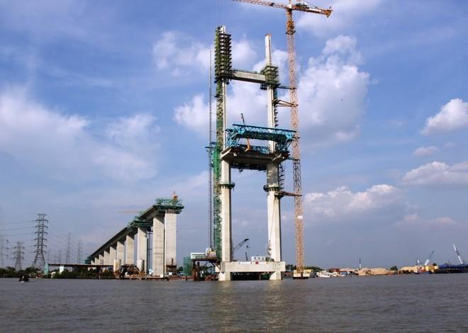 Thi công gói thầu J3 xây dựng cầu Phước Khánh cao tốc Bến Lức - Long Thành